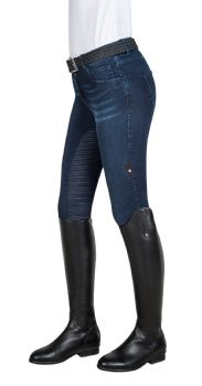 Equiline Denim Breeches - Giorgia